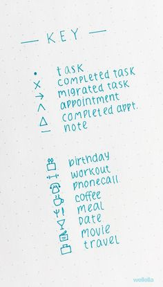 Pin to save for later! The latest bullet journal ideas. Examples of bullet journaling symbols to create the perfect bujo key. Bullet journal symbols, key page ideas, and color coding ideas to try! Bullet Journal Key Examples, Bullet Journal Key Page, Bullet Journal Icons, Creating A Bullet Journal, Bullet Journal Notebook, Bullet Journal Aesthetic, Bullet Journal School, Bullet Journal Spread, Bullet Journal Ideas Pages
