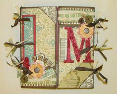 A cute mini album for a very dear friend :O)