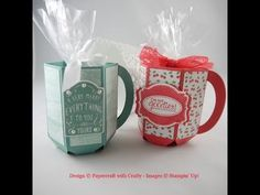 Envelope Punch Board Treat Mug - YouTube