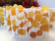 Almond soap - glycerin soap, handcrafted soap