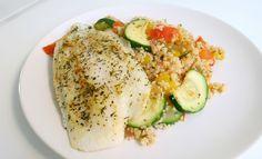 Recept: Couscous met Courgette en Pangasiusfilet | Optima Vita