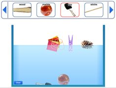 Will it float or sink? Teach your students which objects will float or sink with this fun smartboard activity.
