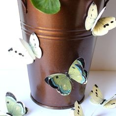 Hacer un poco de papel de la mariposa adornos - los gráficos de hadas