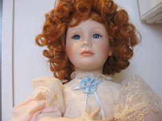 Victorian Doll Porcelain Dolls Vintage Doll by greenleafvintage1, $19.99