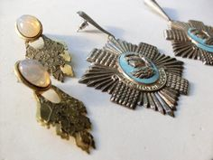 1970 Italian vintage collection earrings   by VintageItalianJewel