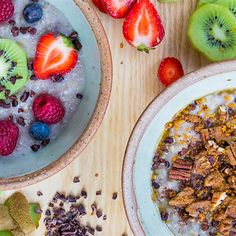 Try this Coconut and Buckwheat Porridge recipe by Chef Jasmine and Melissa Hemsley . This recipe is from the show Hemsley   Hemsley - Healthy