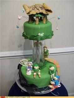 Legend of Zelda Wedding Cake :: looks like the man of my dreams is already married