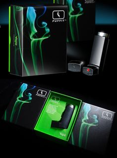 Nice packaging for the Discreet Personal Vape by Puffit - You can find all your smoking accessories right here on Santa Monica #Vapes #Teagardins #SmokeShop UPDATE: Now ANYONE can call our Drug and Drama Helpline Free at 310-855-9168. Teagardins.com