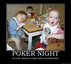 This is a video I put together of a family poker night.