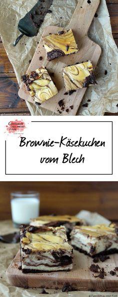 Brownie-Käsekuchen vom Blech