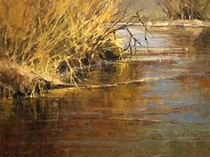 Fall Grasses by Kim Casebeer Oil ~ 12 x 16
