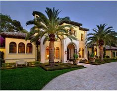 orange county tuscan style home exteriors - Google Search