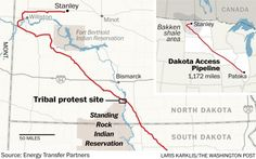 Thousands from multiple tribes have traveled to North Dakota to oppose the project.