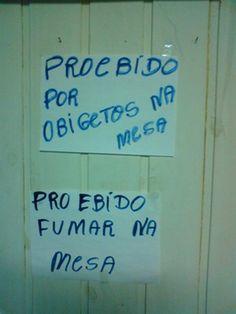 Erros De Português Dos Brasileiros :: Zoando Geral
