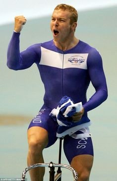 The career of one of Britain's greatest ever Olympians, Sir Chris Hoy, could come full circle if he decides to compete at the Glasgow Games. Track Cycling, Cycling Wear, Pro Cycling, Sir Chris Hoy, Rugby Sport, Athletic Supporter, Bicycle Crunches, Commonwealth Games, Sport Icon