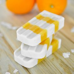 Orange Coconut Creamsicles | www.cookingandbeer.com | Cooking and Beer