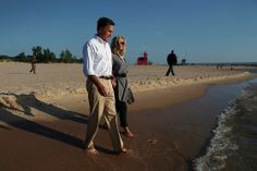 Mitt Romney's Wife Horse   getty images mitt romney and his wife ann romney walk on the beach ...