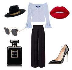 """""""Untitled #5"""" by everybodylov3sblk on Polyvore featuring Jacquemus, Miss Selfridge, Janessa Leone and Lime Crime"""