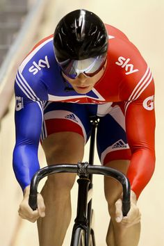 Chris Hoy of Britain competes in the men's sprint qualifying at the 2012 Track Cycling World Championships in Melbourne on April 6, 2012.