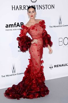 Gala amfAR en Cannes: Katy Perry