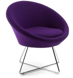 Abua fauteuil paars Kave Home