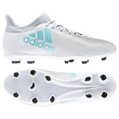 Chuteira Campo Adidas X 17.3 FG Masculina - Branco 93ace8a6eefab