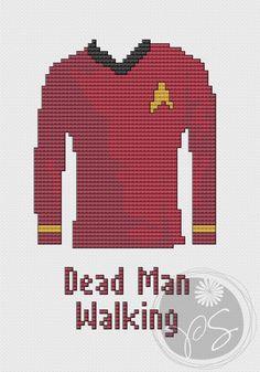 Star Trek - Dead Man Walking (Printable PDF Pattern). $3.50, via Etsy.