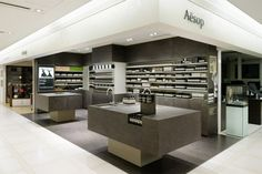 Aesop Tokyo concept made by retail design architects Torafu