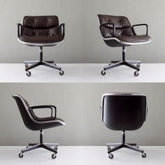 The Charlie Pollock Executive Chair, an icon of Mid-Century Modern design. Need to find a lookalike.