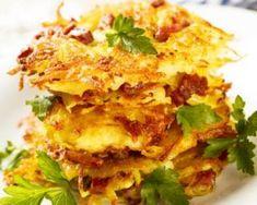 Röstis de pomme de terre allégés façon suisse : http://www.fourchette-et-bikini.fr/recettes/recettes-minceur/rostis-de-pomme-de-terre-alleges-facon-suisse.html