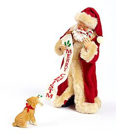 Possible Dreams Traditions Collection Merry Christmas Santa Figurine #Dillards