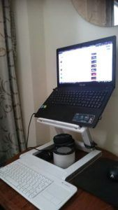 Desk Stand For Laptop Computer