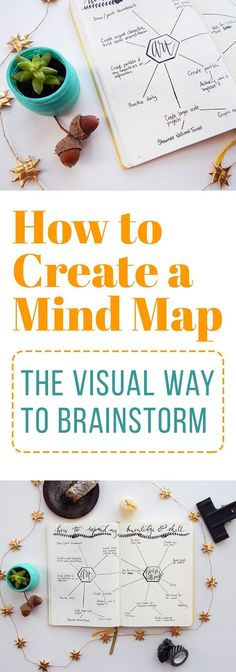 Sometimes there's too much or too little information in your head to get anything done. Create a mind map and inspire a new perspective on brainstorming!