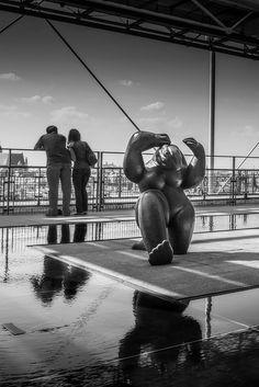 Reflections at Centre #GeorgesPompidou, #Paris  - www.gdecooman.fr portfolio, cours et stages photo à Lille, visites guidées de Lille