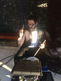 Músicos para eventos.  Batería eléctrica de Electro clásicos.  Cuarteto de cuerdas eléctrico Electric String Quartet.  Santiago de Chile.