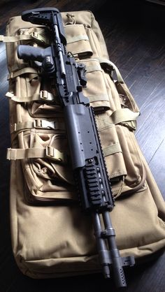 Finally dropped my Springfield Armory Socom II in a Sage EBR stock Tactical Rifles, Firearms, Shotguns, Sniper Rifles, Weapons Guns, Guns And Ammo, Battle Rifle, Springfield Armory, Assault Weapon