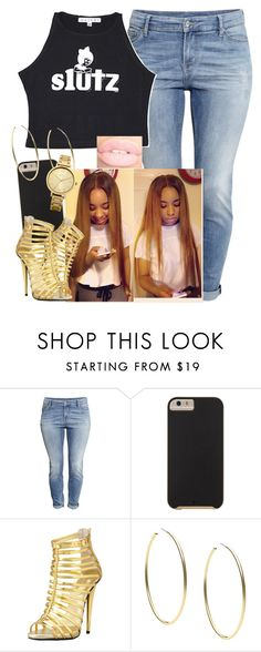 """I miss this account so much Y'all"" by trillest-queen ❤ liked on Polyvore featuring H&M, Case-Mate, Giuseppe Zanotti, Michael Kors and Oasis"