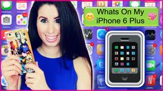 NEW VIDEO on #GlitterForever17!! What's On My iPhone 6 Plus?!  My Favorite Photo Editors, Games & More! Link to watch is right here http://youtu.be/gpCXi1wzYZo