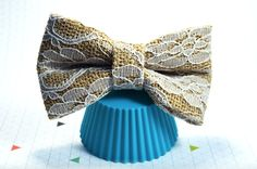 Large Hair Bow Burlap and Lace Bow Burlap Hair Bow by JessDesigned  #hairbow #largehairbow #hairaccessory #cute #adorable #Etsy #jessdesigned #handmade #burlaphairbow #lacehairbow #burlapandlace #wedding #weddinghair #weddinghairbow #formalbow #natural #rustic