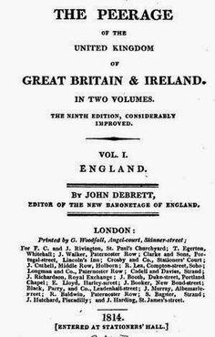 1814 the peerage of the united kingdom by john debrett via google books pd 150 suzilovecom