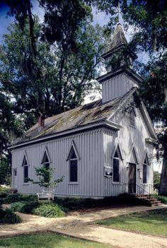 Grace Episcopal Church, circa 1885  Trenton, Jones Cty, NC