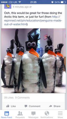 Cute 3d penguins