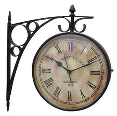 Station Clock manufacturers - Nautical Accessories is a leading manufacturer & exporter of Station Clock, Train Station Clock, Antique Station Clock, wholesale Train Station Clock suppliers, Antique Station Clock exporter from . Boys Train Room, Train Bedroom, Train Station Clock, Train Stations, Clock Antique, Classic Clocks, Old Clocks, Vintage Clocks, Wall Clock Online