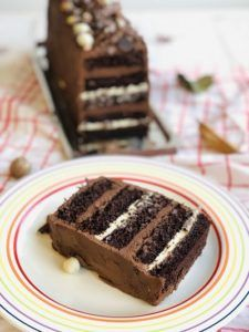 Cake Receipe, Romanian Desserts, Torte Cake, Something Sweet, Chocolate Desserts, Cake Decorating, Sweet Treats, Good Food, Food And Drink
