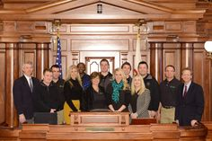 Senator Dale Righter invited the folks from Leadership Crawford County to Springfield to tour the Capitol and sit in on legislative committees and watch the Legislature in action.