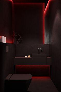 Modern Bathroom Design, Bathroom Interior Design, Modern House Design, Modern Interior Design, Luxury Bedroom Design, Home Room Design, Dream Home Design, Decoracion Habitacion Ideas, Luxury Homes Dream Houses