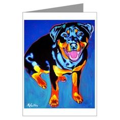 The colors in this card are beautiful, it helps to have a beautiful subject. $7.19 on cafepress.com P.S. This board is curated by packdog.co. If you love a dog, you are going to love pack.