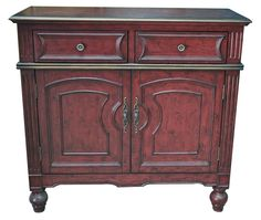 Brickyard 2 Drawer Cabinet | Crestview Collection | Home Gallery Stores