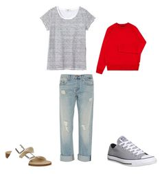 """""""casual"""" by wendy-bartram on Polyvore featuring J Brand, Birkenstock, Paul Smith and Converse"""