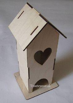 HaM / Skladací domček na čajové vrecúška Bird Houses, Spirit, Vase, Garden, Outdoor Decor, Home Decor, Garten, Decoration Home, Room Decor